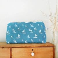 Sailboat Zip Pouch | Charlotte Macey